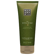 Buy Rituals The Ritual of Dao Soothing Hand Night Balm, 70ml Online at johnlewis.com