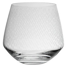 Buy Design Project by John Lewis No.018 Tumbler Dash Design, Clear, 390ml Online at johnlewis.com