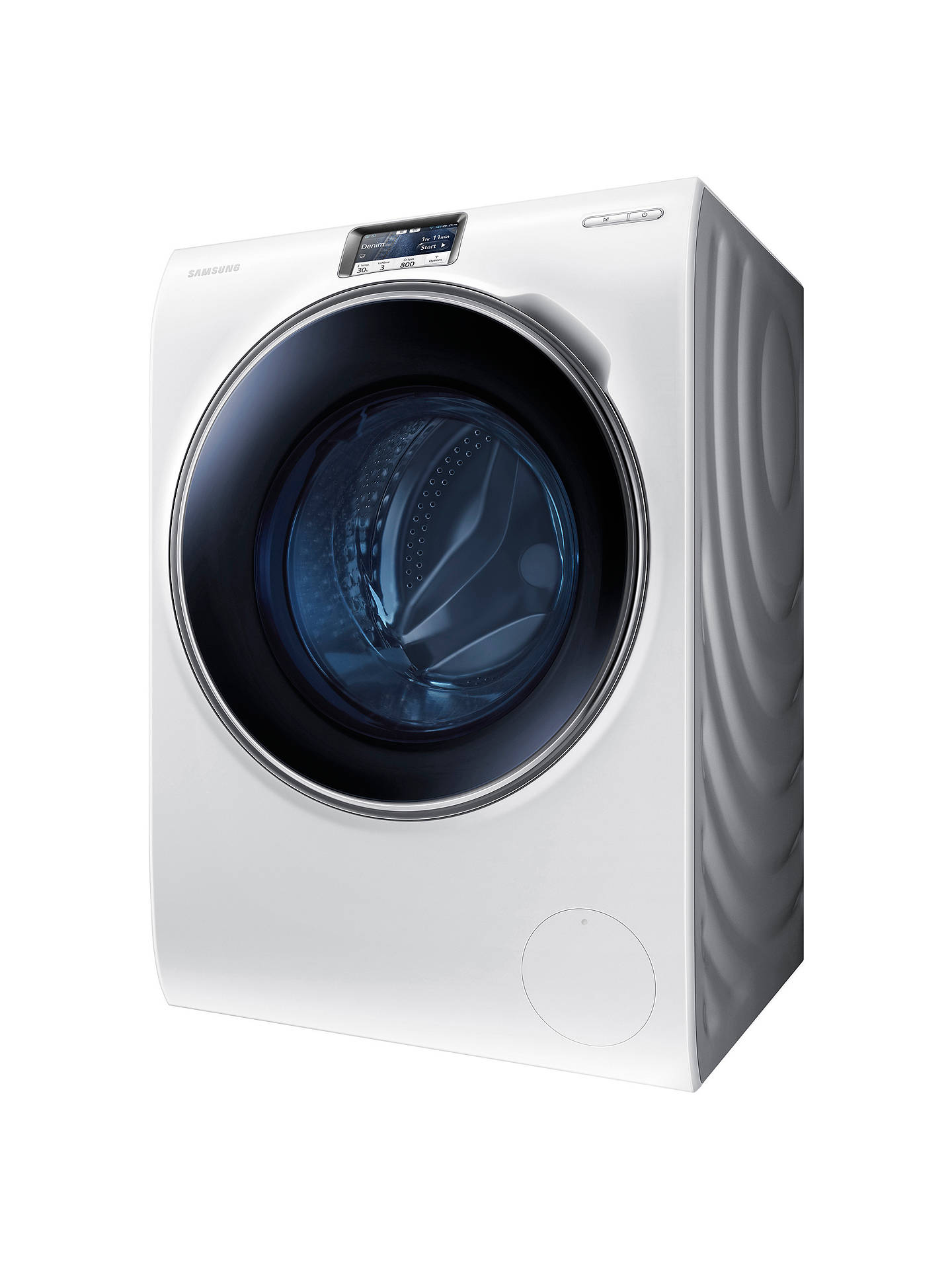BuySamsung WW10H9600EW Freestanding Washing Machine, 10kg Load, A+++ Energy Rating, 1600rpm Spin, Stainless Steel, White Online at johnlewis.com