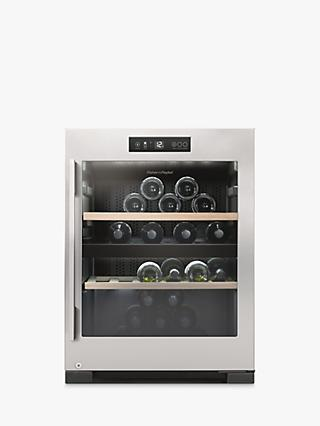 Fisher & Paykel RF106RDWX1 Freestanding Wine Cabinet, Stainless Steel