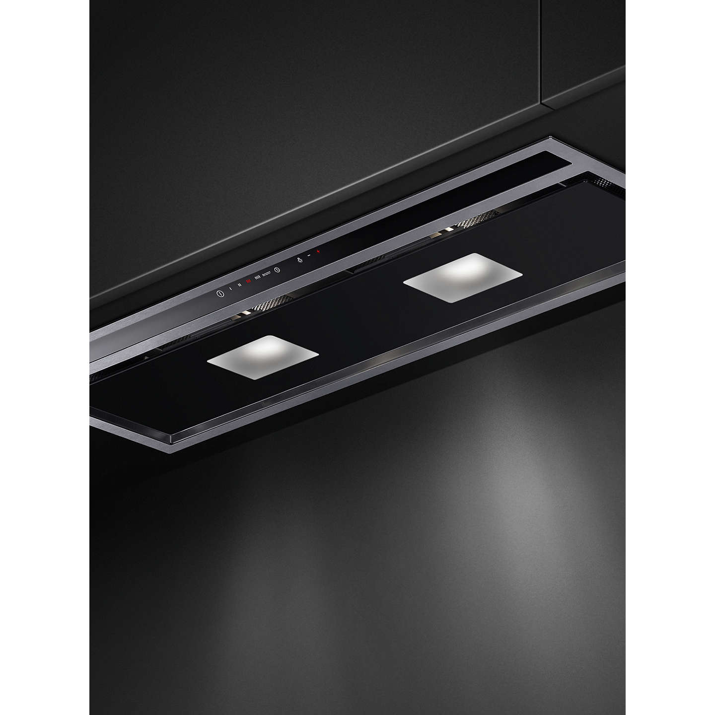 BuyFisher & Paykel HP90IHCB3 Integrated Cooker Hood, Stainless Steel / Black Online at johnlewis.com