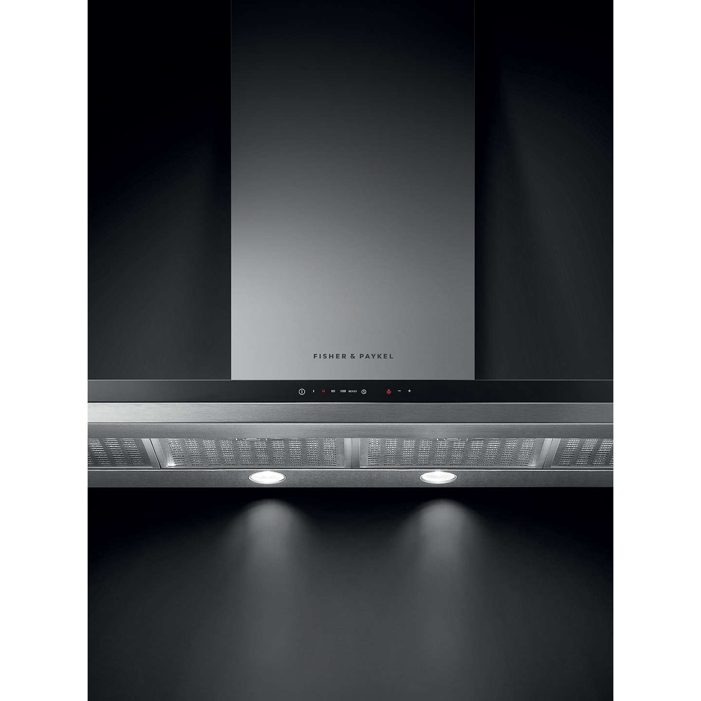 BuyFisher & Paykel HC120BCXB2 Chimney Cooker Hood, Stainless Steel Online at johnlewis.com