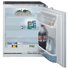 Buy Hotpoint HLA1UK Integrated Fridge, A+ Energy Rating, 60cm Wide, White Online at johnlewis.com