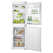 Buy Hotpoint HMCB5050AA Integrated Fridge Freezer, A+ Energy Rating, 54cm Wide, White Online at johnlewis.com