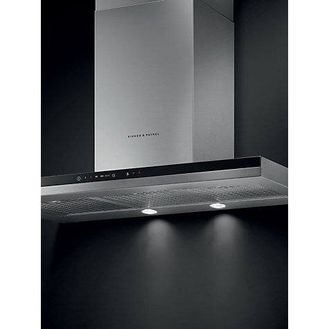 Buy Fisher & Paykel HC90BCXB2 Chimney Cooker Hood, Stainless Steel Online at johnlewis.com