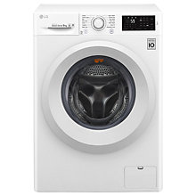 Buy LG FH4U2VFN3 Freestanding Washing Machine, 9kg Load, A+++ Energy Rating, 1400rpm Spin, White Online at johnlewis.com