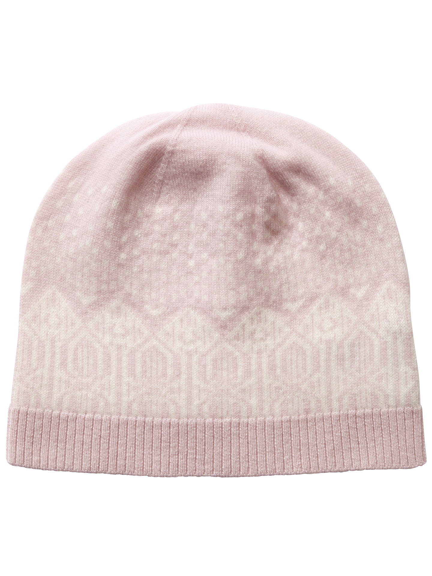 c0e1db3679e Buy Pure Collection Josie Cashmere Fair Isle Hat