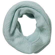 Buy Pure Collection Shiloh Cashmere Textured Snood, Opal Online at johnlewis.com