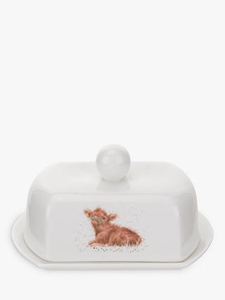 Buy Wrendale Designs Calf Covered Butter Dish Online at johnlewis.com
