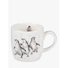 Buy Royal Worcester Wrendale Penguin Mug Online at johnlewis.com