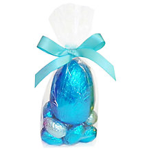 Buy Milk Chocolate Easter Egg & Mini Chocolate Eggs, Foiled, 190g Online at johnlewis.com