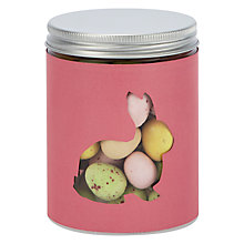 Buy Easter Bunny Jar With Mini Easter Eggs, Pink, 225g Online at johnlewis.com
