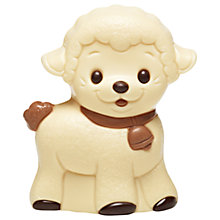 Buy White Chocolate Lamb Figure, 75g Online at johnlewis.com