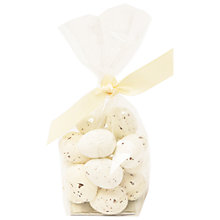 Buy White Chocolate Speckled Eggs, 150g Online at johnlewis.com