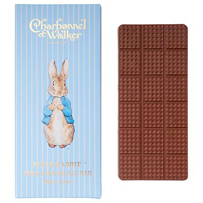 Charbonnel et Walker Peter Rabbit Milk Chocolate Bar, 80g