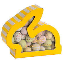 Buy Charbonnel et Walker Mini Eggs in Rabbit Box, Yellow, 150g Online at johnlewis.com