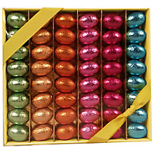 Buy Tray Of Foiled Chocolate Mini Eggs, 370g Online at johnlewis.com