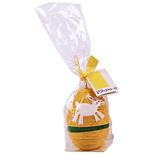 Buy String Egg With Mini Chocolate Eggs, 80g, Yellow Online at johnlewis.com