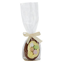 Buy The Cocoabean Company Mini Egg Milk Chocolate Easter Egg, 60g Online at johnlewis.com
