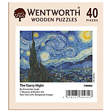 Buy Wentworth Wooden Puzzles The Starry Night Jigsaw Puzzle, 40 pieces Online at johnlewis.com