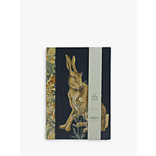 Buy Morris & Co Fabric Notebook, A5 Online at johnlewis.com