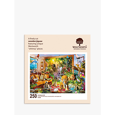 Image of Wentworth Wooden Puzzles Coming To Life Jigsaw Puzzle, 250 pieces