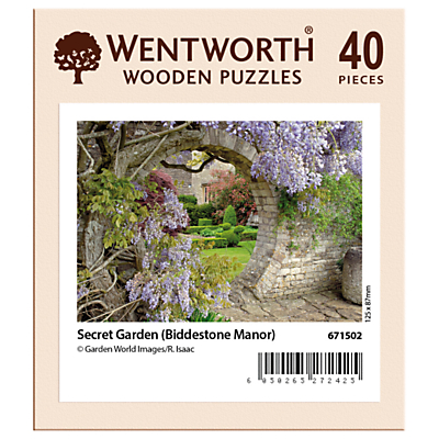 Image of Wentworth Wooden Puzzles The Secret Garden Jigsaw Puzzle, 40 pieces