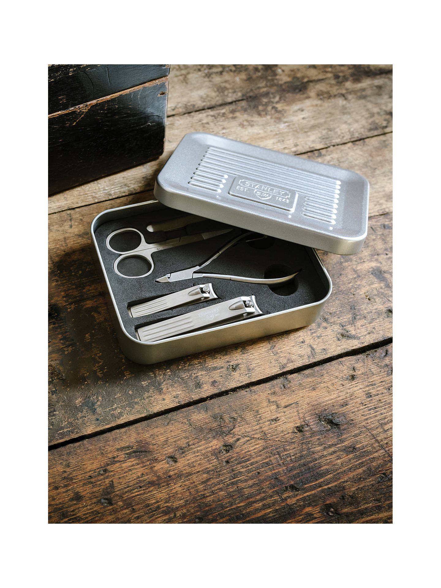 Buy Stanley Manicure Tin Tool Kit Online at johnlewis.com