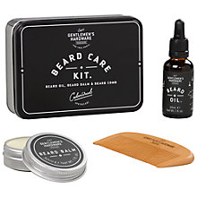 Buy Gentlemen's Hardware Beard Care Kit Online at johnlewis.com