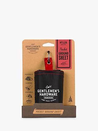 Gentlemen's Hardware Pocket Ground Sheet