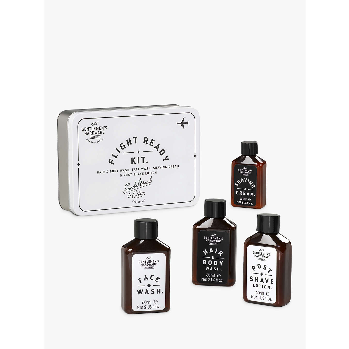 BuyGentlemen's Hardware Travel Cosmetics Set Online at johnlewis.com