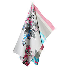 Buy Joules Floral Tea Towel, Set of 2 Online at johnlewis.com