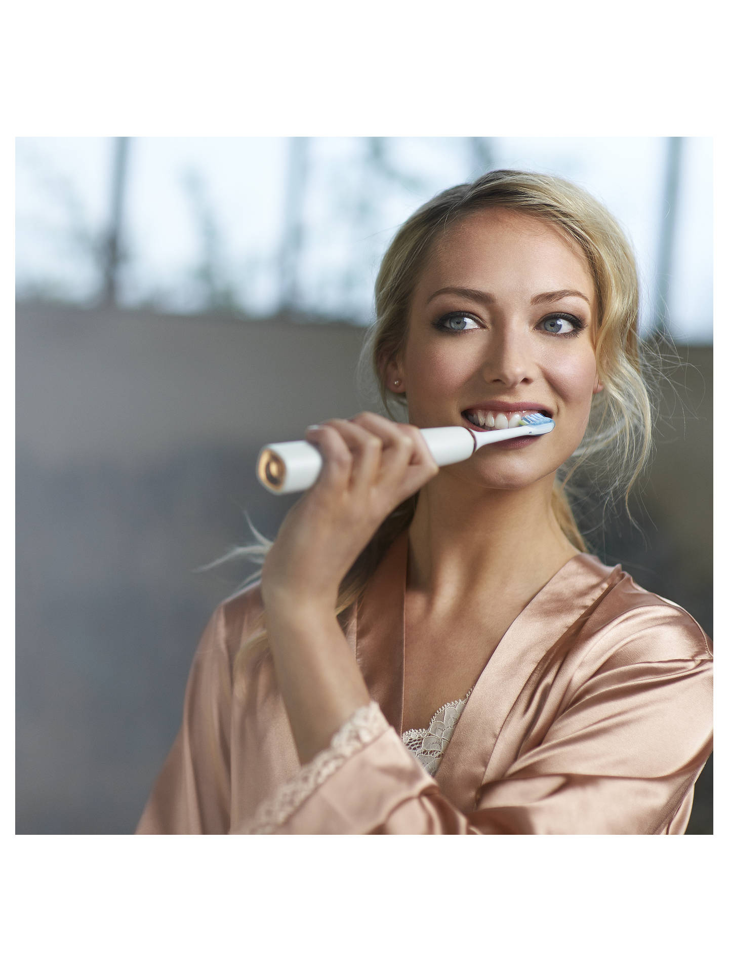 Buy Philips Sonicare HX9391/92 DiamondClean Rechargeable Sonic Toothbrush, Rose Gold Online at johnlewis.com
