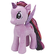 Buy Ty My Little Pony Sparkle Extra Large Beanie Soft Toy, 70cm Online at johnlewis.com