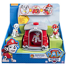 Buy Paw Patrol Pup To Hero Playset, Assorted Online at johnlewis.com