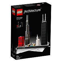 Buy LEGO Architecture 21033 Chicago Online at johnlewis.com
