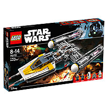 Buy LEGO Star Wars 75172 Y-Wing Starfighter Online at johnlewis.com