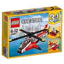 Buy LEGO Creator 31057 3-in-1 Air Blazer Online at johnlewis.com