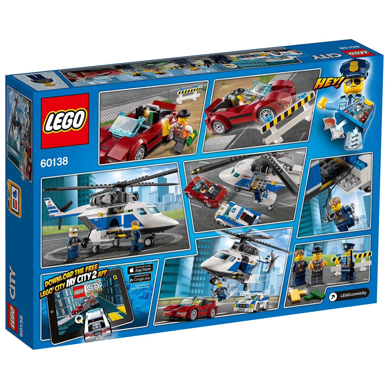 lego city 60138 high speed chase at john lewis. Black Bedroom Furniture Sets. Home Design Ideas