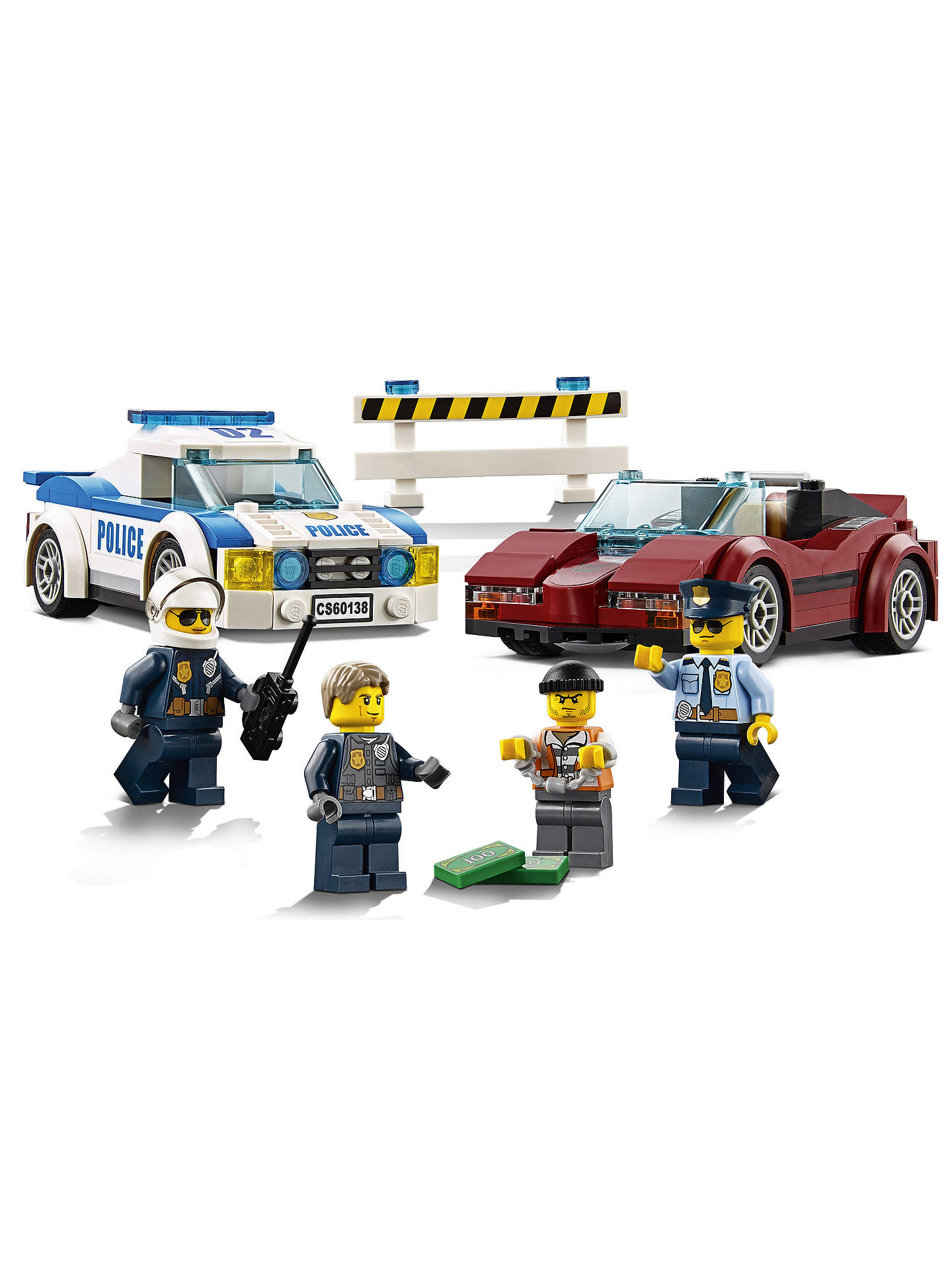Lego City 60138 High Speed Chase At John Lewis Partners
