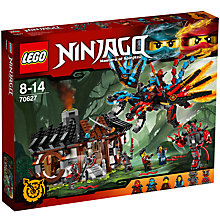 Buy LEGO Ninjago 70627 Dragon's Forge Online at johnlewis.com