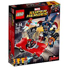Buy LEGO Marvel Super Heroes 76077 Iron Man: Detroit Steel Strikes Online at johnlewis.com