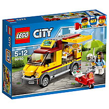 Buy LEGO City 60150  Pizza Van Online at johnlewis.com