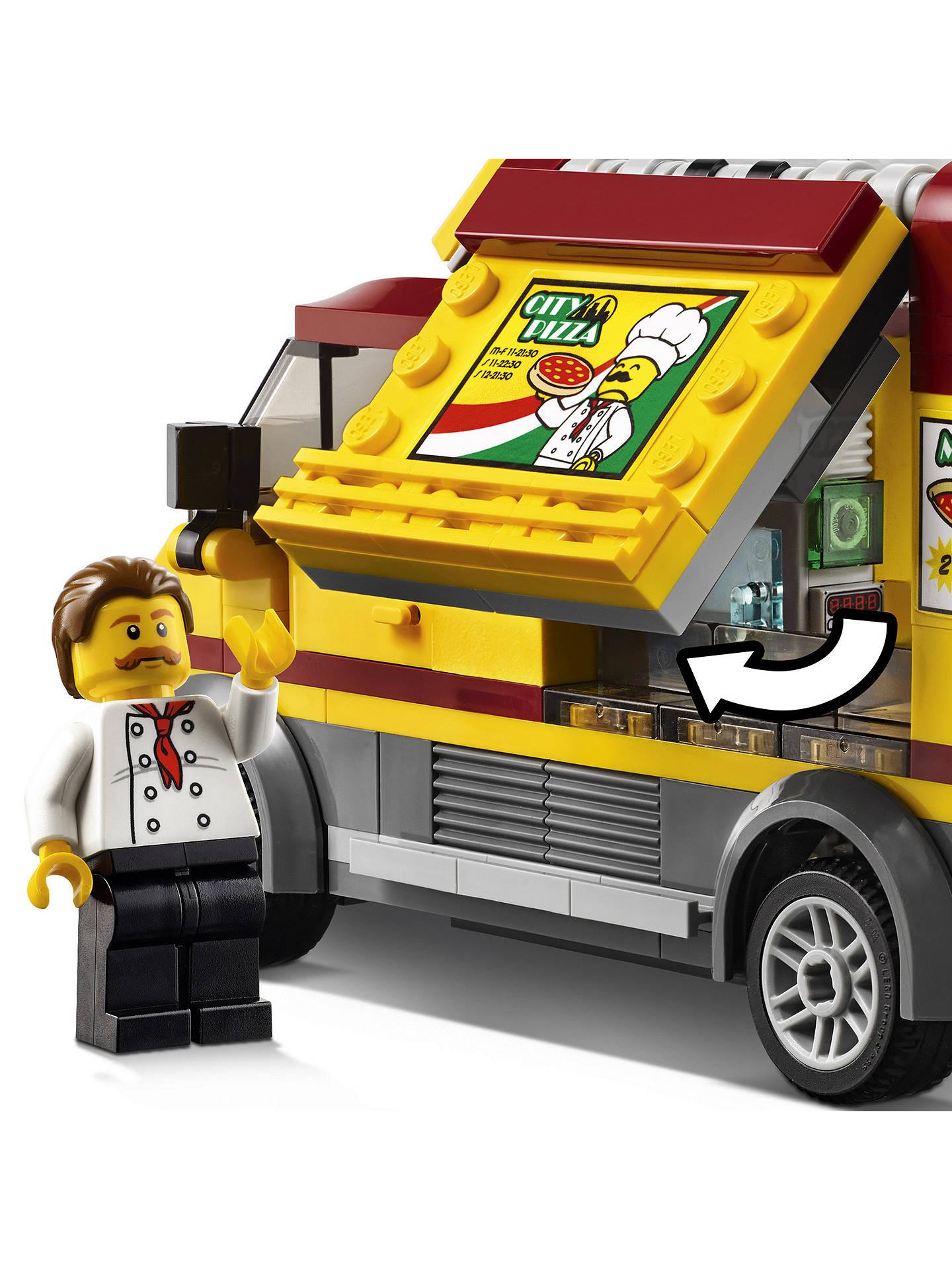 Lego City 60150 Pizza Van