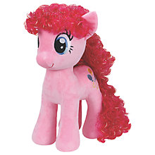 Buy Ty My Little Pony Pinkie Pie Beanie Soft Toy, 42cm Online at johnlewis.com