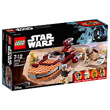 Buy LEGO Star Wars 75173 Luke's Landspeeder Online at johnlewis.com