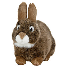 Buy Living Nature European Rabbit  Soft Toy, 18cm Online at johnlewis.com