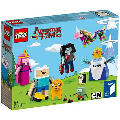 Product photo of Lego ideas 21308 adventure time
