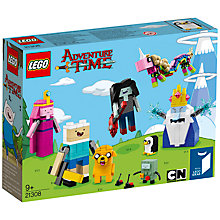 Buy LEGO Ideas 21308 Adventure Time Online at johnlewis.com
