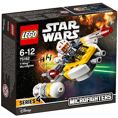 Image of LEGO Star Wars 75162 Y-Wing Microfighter